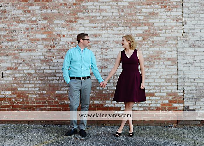 Mechanicsburg Central PA engagement portrait photographer outdoor harrisburg city steps market street bridge stone wall brick wall ring civic club rl 10