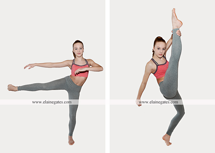 Mechanicsburg Central PA teenager portrait photographer indoor studio girl ballet dance posing headshot jw 3