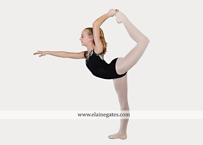 Mechanicsburg Central PA teenager portrait photographer indoor studio girl ballet dance posing headshot jw 5