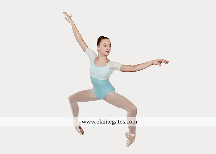 Mechanicsburg Central PA teenager portrait photographer indoor studio girl ballet dance posing headshot jw 7