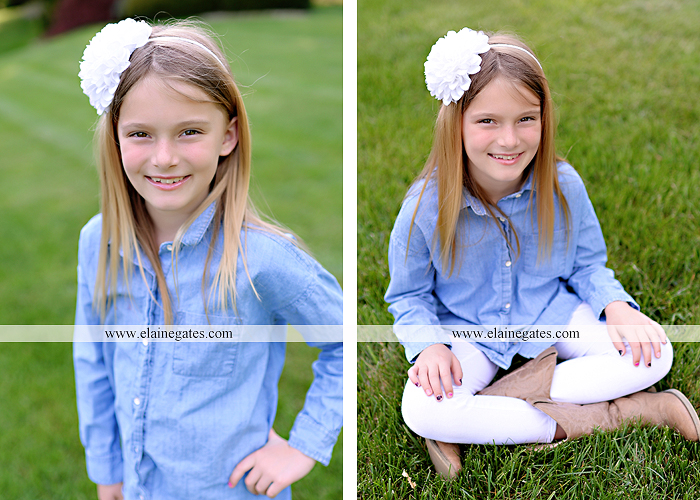Mechanicsburg Central PA family portrait photographer outdoor children girls sister grass father mother flowers baby st 1