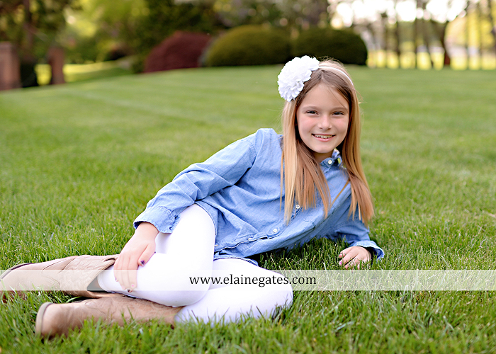 Mechanicsburg Central PA family portrait photographer outdoor children girls sister grass father mother flowers baby st 2