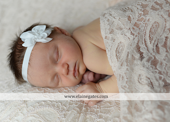 Mechanicsburg Central PA newborn baby portrait photographer girl sleeping indoor blanket brother bow tutu outdoor trees father mother family km 05