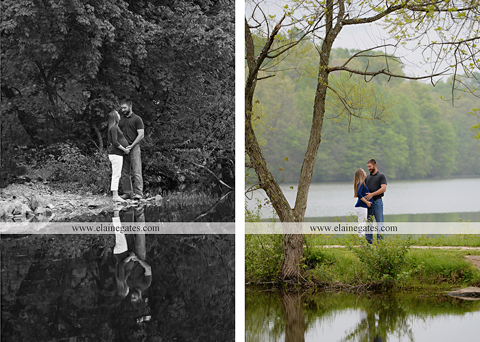 Mechanicsburg Central PA portrait photographer maternity outdoor field pinchot state park Lewisberry lake water boat dock holding hands kiss jb 9