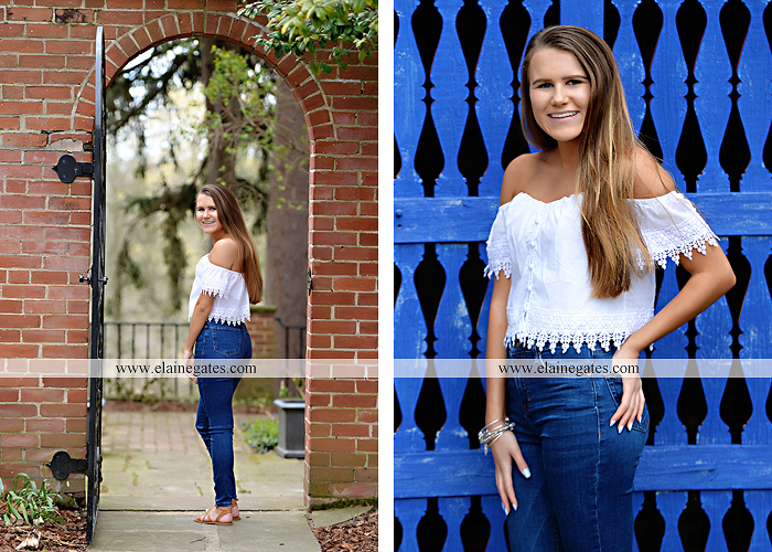 Mechanicsburg Central PA senior portrait photographer outdoor girl female Venue Chilton brick wall stone wall stone arch road trees steps CVHS cumberland valley school district gs 4