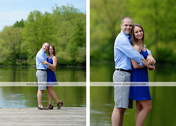 Mechanicsburg Central PA engagement portrait photographer outdoor boat lake pinchot state park Lewisberry dock water path trail wildflowers field hug kiss as 02