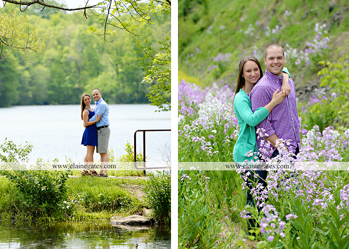 Mechanicsburg Central PA engagement portrait photographer outdoor boat lake pinchot state park Lewisberry dock water path trail wildflowers field hug kiss as 06
