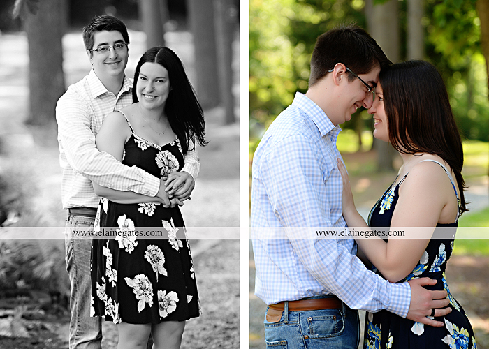 Mechanicsburg Central PA engagement portrait photographer outdoor water stream creek trees path bridge covered bridge messiah college hug kiss tt 3
