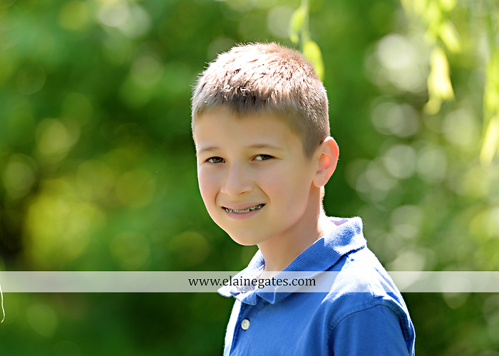 Mechanicsburg Central PA kids children portrait photographer outdoor boy girl brother sister siblings road field trees water stream creek rocks hug grass ad 08