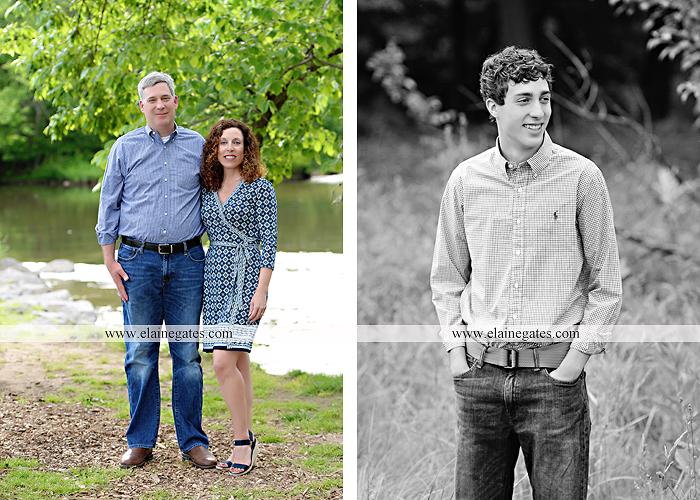 Mechanicsburg Central PA senior portrait photographer outdoor boy guy family brothers mom dad trees path field grass covered bridge messiah college track cross country running athlete at 02