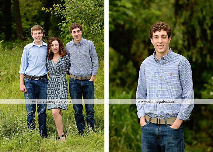 Mechanicsburg Central PA senior portrait photographer outdoor boy guy family brothers mom dad trees path field grass covered bridge messiah college track cross country running athlete at 06