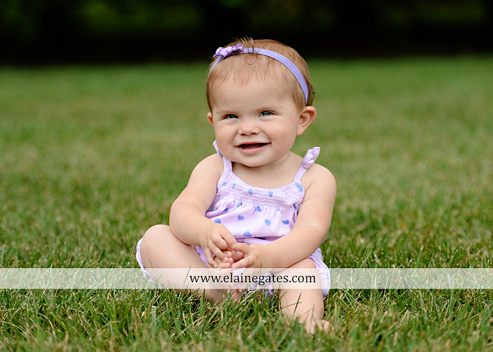 Mechanicsburg Central PA baby child portrait photographer girl grass iron bench mom mommy mother bow tutu sr 1
