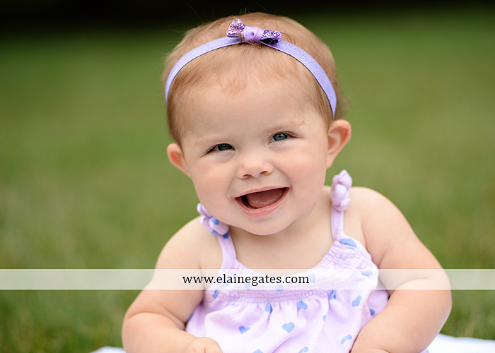Mechanicsburg Central PA baby child portrait photographer girl grass iron bench mom mommy mother bow tutu sr 2