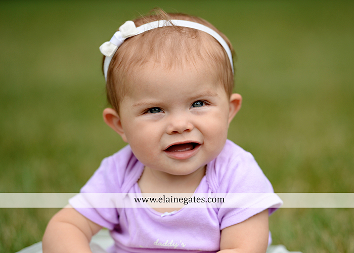 Mechanicsburg Central PA baby child portrait photographer girl grass iron bench mom mommy mother bow tutu sr 7