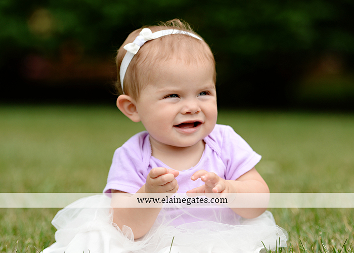 Mechanicsburg Central PA baby child portrait photographer girl grass iron bench mom mommy mother bow tutu sr 8