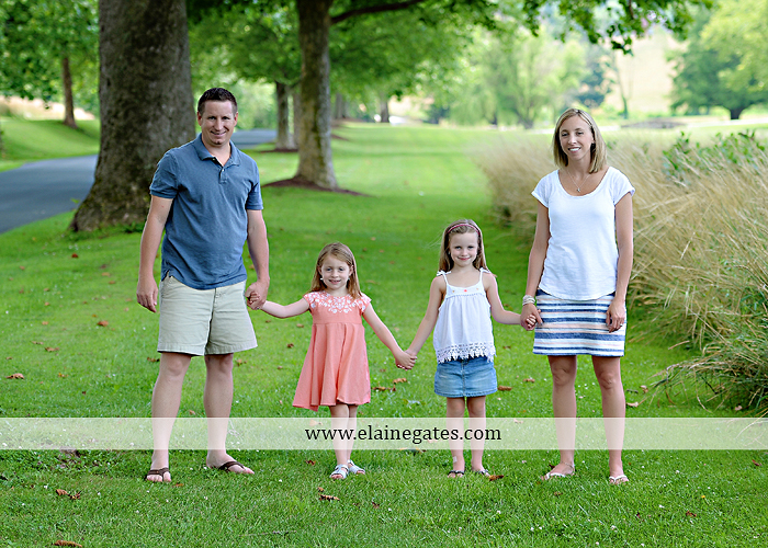 Mechanicsburg Central PA family portrait photographer outdoor children kids daughters sisters mother father field grass rocks water creek stream tb 04
