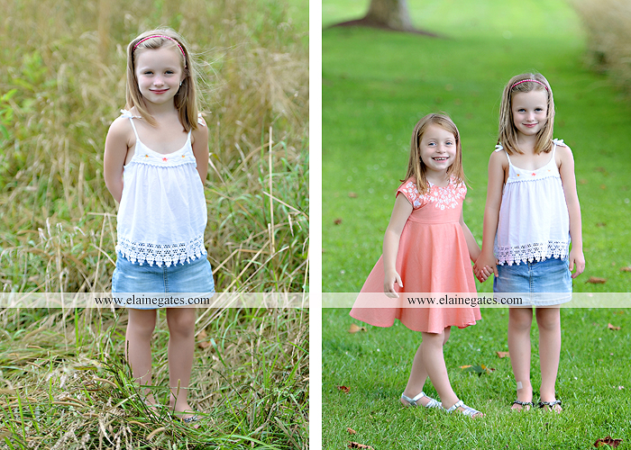 Mechanicsburg Central PA family portrait photographer outdoor children kids daughters sisters mother father field grass rocks water creek stream tb 05