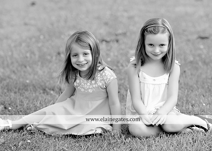 Mechanicsburg Central PA family portrait photographer outdoor children kids daughters sisters mother father field grass rocks water creek stream tb 06