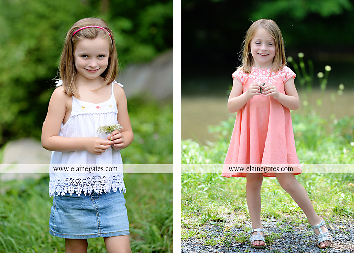 Mechanicsburg Central PA family portrait photographer outdoor children kids daughters sisters mother father field grass rocks water creek stream tb 08