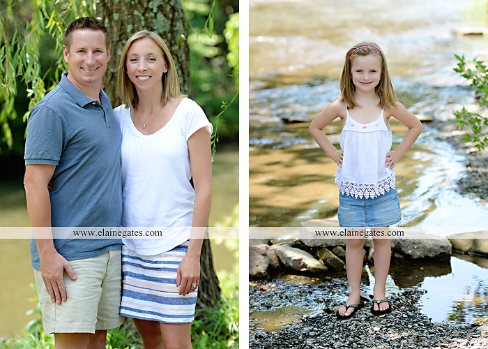 Mechanicsburg Central PA family portrait photographer outdoor children kids daughters sisters mother father field grass rocks water creek stream tb 10