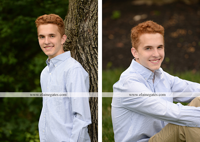 Mechanicsburg Central PA senior portrait photographer outdoor boy male formal trees woods grass wood pile forest ap 3