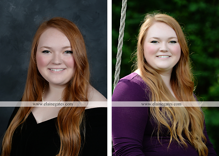 Mechanicsburg Central PA senior portrait photographer outdoor girl formal swing hammock iron bench grass Red Land high school ld 1