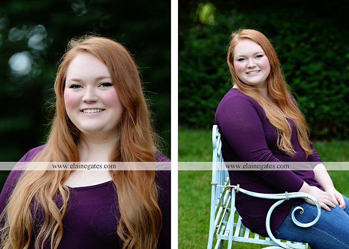 Mechanicsburg Central PA senior portrait photographer outdoor girl formal swing hammock iron bench grass Red Land high school ld 3