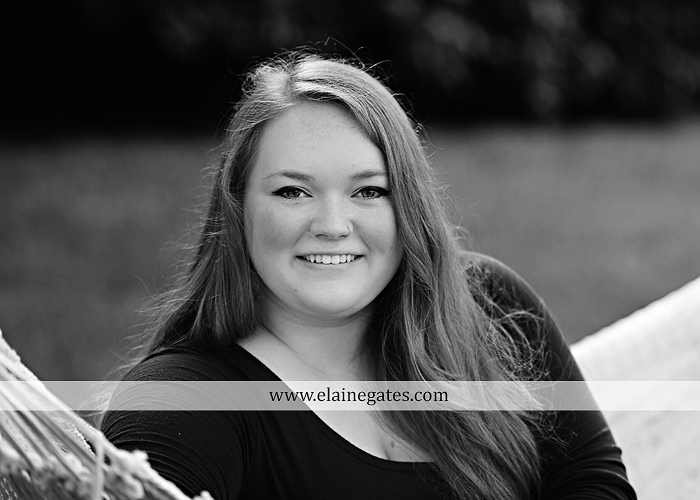 Mechanicsburg Central PA senior portrait photographer outdoor girl formal swing hammock iron bench grass Red Land high school ld 5