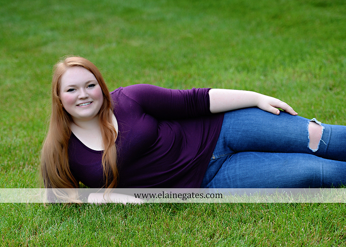 Mechanicsburg Central PA senior portrait photographer outdoor girl formal swing hammock iron bench grass Red Land high school ld 6