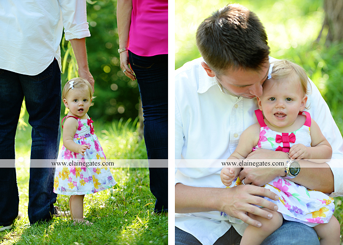 Mechanicsburg Central PA baby child portrait photographer girl outdoor family mom dad daughter road trees grass kiss stuffed animal field jt 8