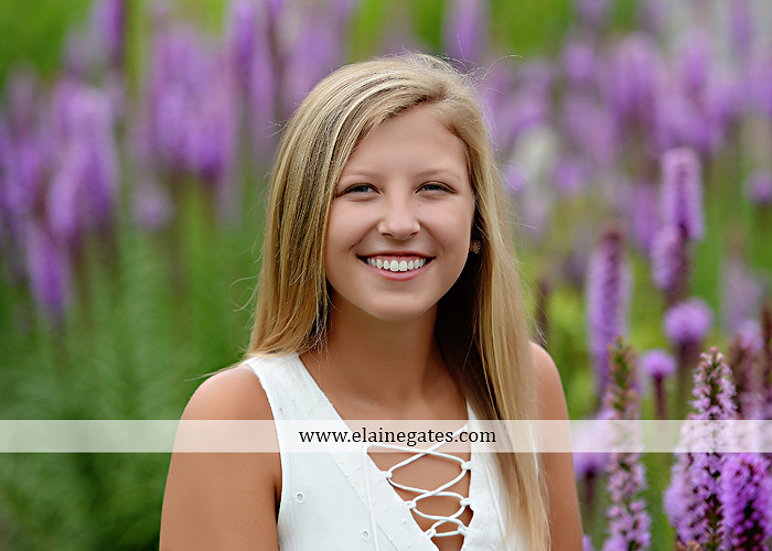 Mechanicsburg Central PA senior portrait photographer outdoor girl female formal swing tree iron bench wildflowers hammock bridge covered bridge messiah college field water ls 04