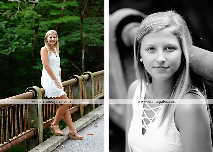 Mechanicsburg Central PA senior portrait photographer outdoor girl female formal swing tree iron bench wildflowers hammock bridge covered bridge messiah college field water ls 08