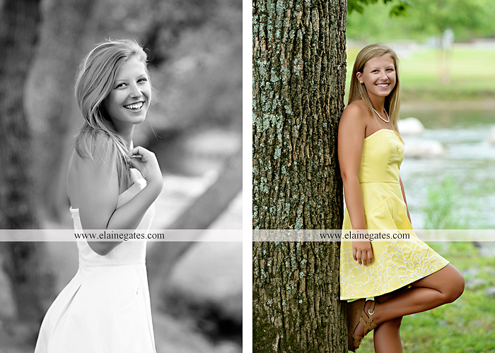 Mechanicsburg Central PA senior portrait photographer outdoor girl female formal swing tree iron bench wildflowers hammock bridge covered bridge messiah college field water ls 10