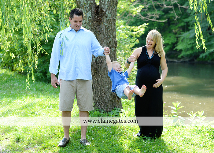 mechanicsburg-central-pa-portrait-photographer-maternity-outdoor-mother-father-son-family-road-holding-hands-kiss-field-water-creek-stream-baby-bump-kiss-rocks-tree-ad-13