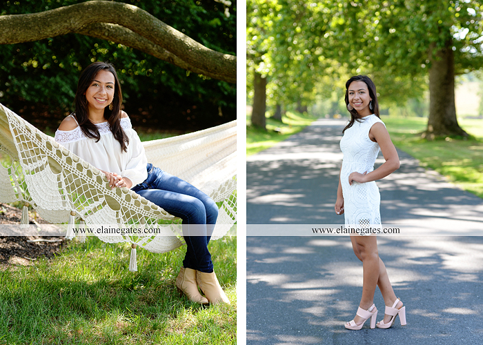 mechanicsburg-central-pa-senior-portrait-photographer-outdoor-female-girl-formal-tree-iron-bench-grass-field-wildflowers-hammock-road-water-creek-stream-fence-at-05