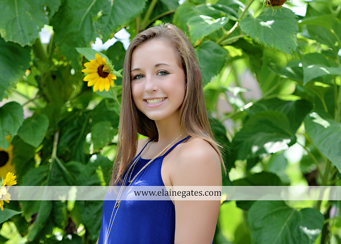 mechanicsburg-central-pa-senior-portrait-photographer-outdoor-female-girl-formal-wooden-swing-grass-hammock-road-field-fence-tree-water-creek-stream-sunflowers-wildflowers-td-11