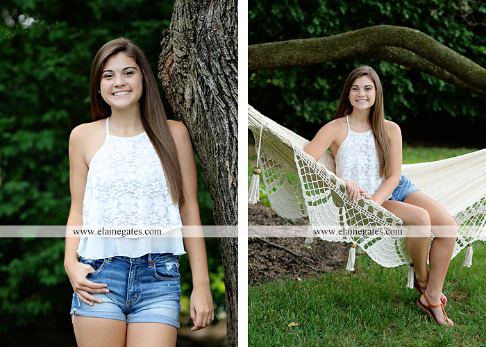 mechanicsburg-central-pa-senior-portrait-photographer-outdoor-girl-female-formal-swing-tree-hammock-grass-wildflowers-field-water-creek-stream-rocks-fallen-tree-kl-02