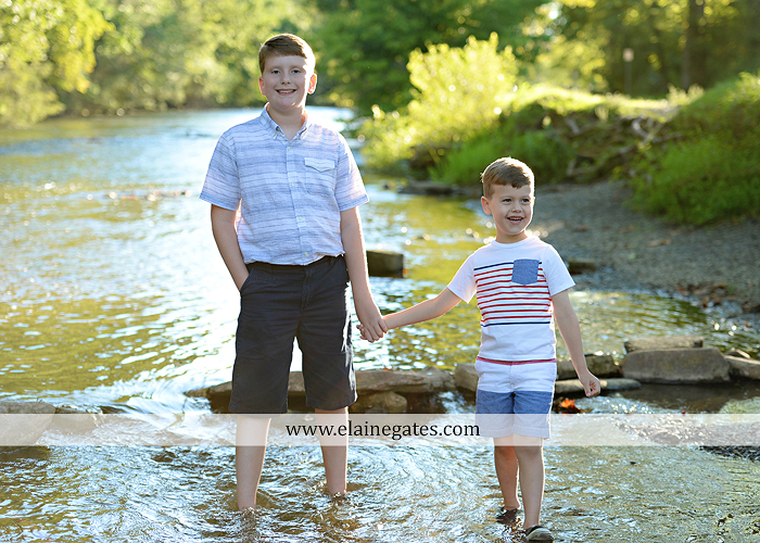 mechanicsburg-central-pa-kids-children-portrait-photographer-outdoor-boys-brothers-grass-field-fence-water-creek-stream-road-jbc-09