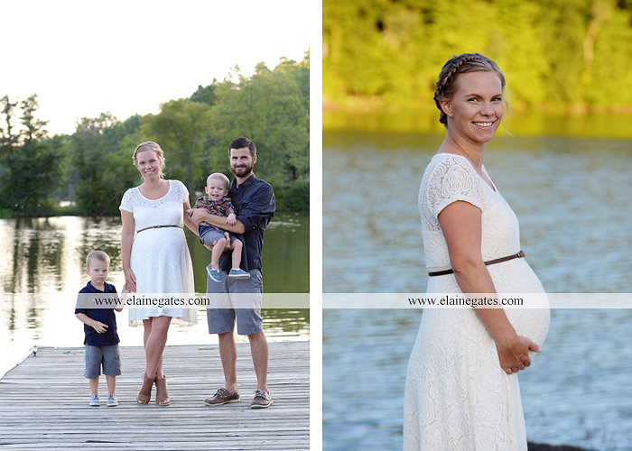 mechanicsburg-central-pa-portrait-photographer-maternity-outdoor-mother-father-sons-field-water-lake-dock-path-canoe-hug-kiss-baby-bump-nk-11