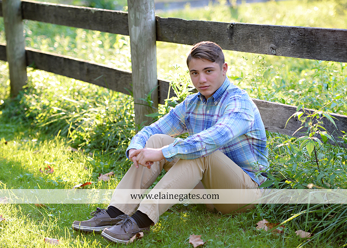 mechanicsburg-central-pa-senior-portrait-photographer-outdoor-male-guy-formal-road-field-fence-water-creek-stream-rock-wk-4