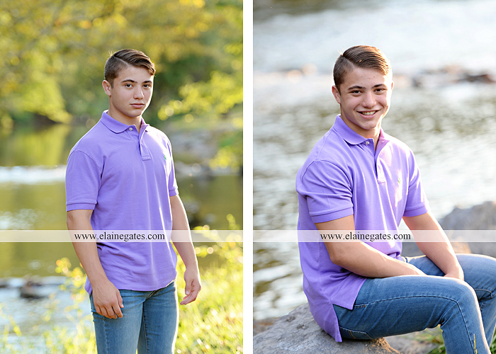 mechanicsburg-central-pa-senior-portrait-photographer-outdoor-male-guy-formal-road-field-fence-water-creek-stream-rock-wk-5
