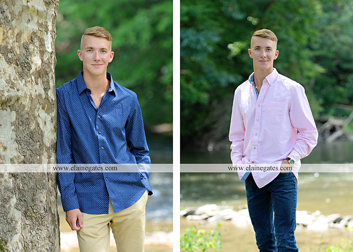 mechanicsburg-central-pa-senior-portrait-photographer-outdoor-male-guy-formal-road-trombone-field-tree-water-creek-stream-rock-fence-es-3