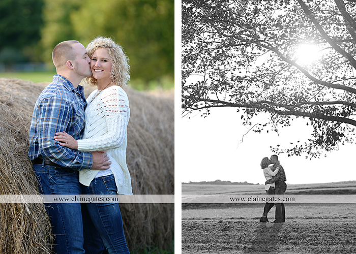 mechanicsburg-central-pa-engagement-portrait-photographer-outdoor-couple-love-hug-kiss-ring-holding-hands-road-field-hay-bale-sunset-tree-fence-water-creek-stream-shore-dog-wildflowers-ce04