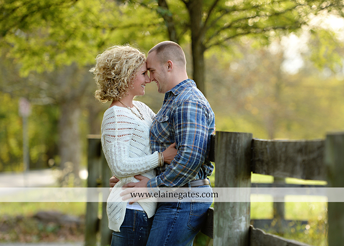 mechanicsburg-central-pa-engagement-portrait-photographer-outdoor-couple-love-hug-kiss-ring-holding-hands-road-field-hay-bale-sunset-tree-fence-water-creek-stream-shore-dog-wildflowers-ce05