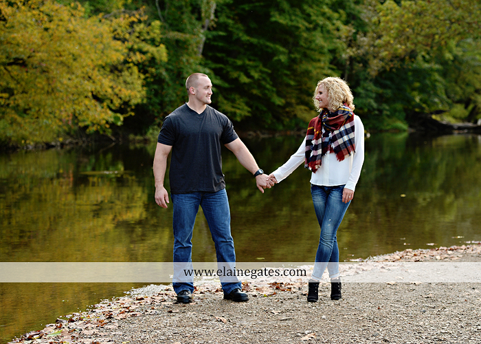 mechanicsburg-central-pa-engagement-portrait-photographer-outdoor-couple-love-hug-kiss-ring-holding-hands-road-field-hay-bale-sunset-tree-fence-water-creek-stream-shore-dog-wildflowers-ce07