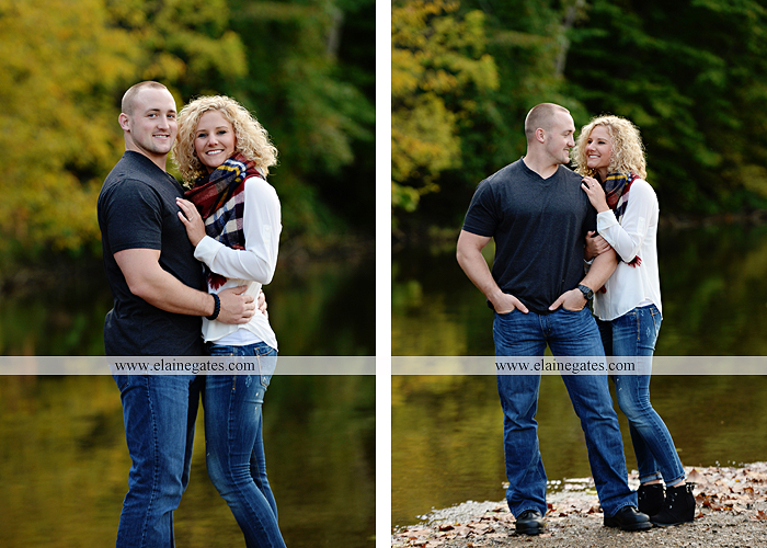 mechanicsburg-central-pa-engagement-portrait-photographer-outdoor-couple-love-hug-kiss-ring-holding-hands-road-field-hay-bale-sunset-tree-fence-water-creek-stream-shore-dog-wildflowers-ce08