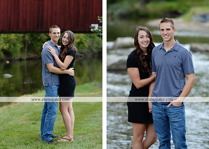 Mechanicsburg Central PA Engagement Portrait Photographer Outdoor - 10 portrait photos of people before after the photographer kissed them