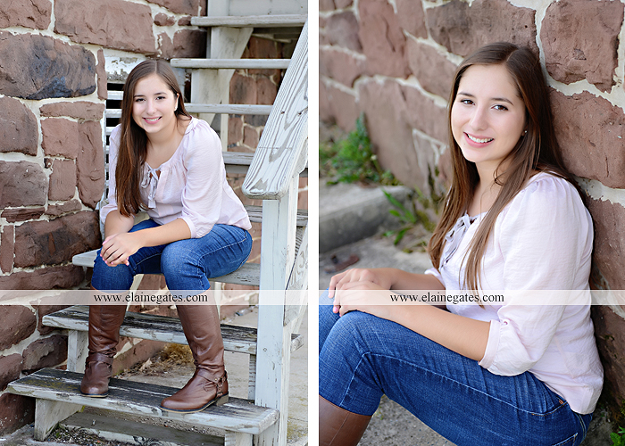 central pa senior portrait photographer bench tree flute music stream creek art sketch wildflowers stone stairs horse stable barn hw 5