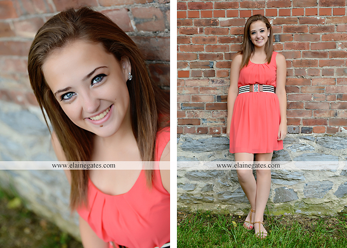 central pa senior portrait photographer brick wall stone road fence tree stream creek water hammock swing ow 1