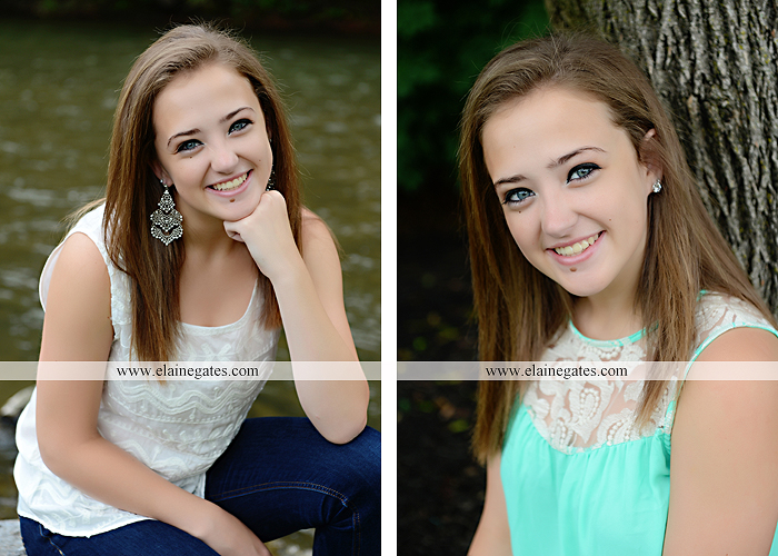 central pa senior portrait photographer brick wall stone road fence tree stream creek water hammock swing ow 4
